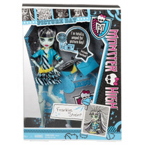 Boneca Mattel Monster High Frankie Stein Picture Day Origina