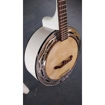 Banjo Branco Lumian Caixa De 9 Emerson Brasa.