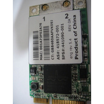 Placa Wireless Original Notebook Hp Tx1000