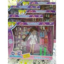 Boneca Doutora Brinquedos Kit Completo+dvd A Pronta Entrega