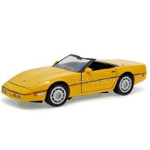 Chevrolet Corvette C4 1986 1:24 Motormax 73298-amarelo