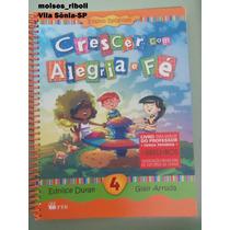 Livro 4 Do Professor Crescer Com Alegria E Fé (1p)