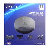 Acessório Usb Power Hub 4 Entradas Usb Para Ps3 E Ps4