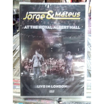 Jorge E Mateus At Royal Albert Hall Dvd Original Novo Lacrad