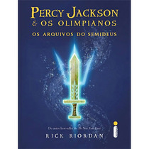 Livro Percy Jackson - Os Arquivos Do Semideus - Capa Dura