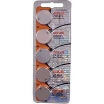 Bateria Botão Maxell Cr2025 Micro Lithium Cell 5 Unidades