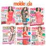 15 Revistas Moda Moldes & Cia Costura Roupas Vestidos Novas