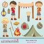 Kit Acampamento -imagens De Alta Qualidade