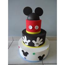 Bolo Falso Cenografico Do Mickey