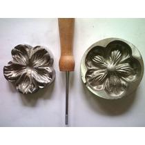 Frisador De Flor Em Alumínio - Camélia P ( Rosa Aberta)