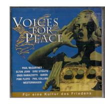 Cd - Duplo - Voices For Peace - Importado - Varios Artistas
