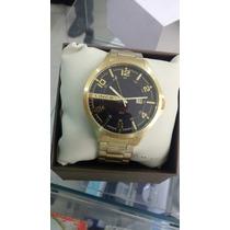 Relógio Lince Orient Folheado A Ouro Promoção Imperdível