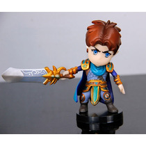 Lol League Of Legends Garen Figure Boneco Com Base Pvc