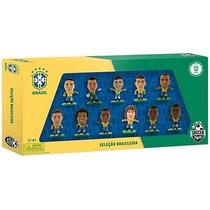 Jogadores Da Seleção Brasileira - Kit C/11 Bonecos - Dtc