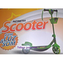 Patinete-scooter-alumínio-infantil-varios-modelo-luz-som