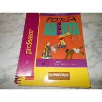 Livro Porta Aberta História 3º Ano (livro Do Professor) Novo