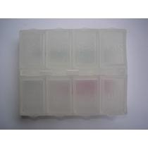 Porta Comprimido / Remédio Transparente Quadrado