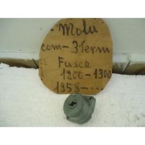 Vw -miolo De Chave Do Fusca 1200 1958 C0m 3 Terminais 0km.