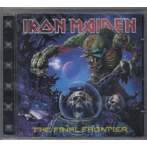 Iron Maiden - The Final Frontier - Cd Novo