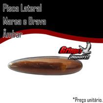 Lanterna Lateral Pisca Marea E Brava Ambar + Brinde