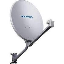 Antena Mini Parabolica Banda Ku 60cm Aquário Dth60