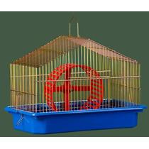 Gaiola Para Hamster Capela - Completa Prata Ou Dourada