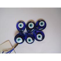 Pingente Olho Grego Azul De Vidro Unidade