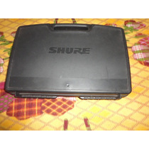 Microfone Shure Pgx24 Sm58 Sem Fio - Semi Novo Usado 5 Vezes