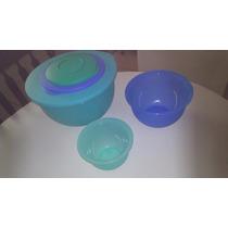 Tupperware Kit Murano 3 Peças