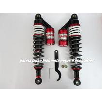 Amortecedor A Gas Cg Titan 125 E 150 Partir 2000 Vermelho