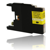 Cartucho De Tinta Brother Lc75 Lc79 J430w Amarelo Compativel