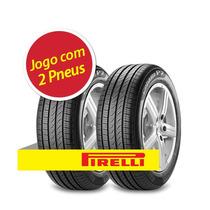 Kit 2 Pneu Aro 15 Pirelli 195/55r15 Cinturato P7 85h