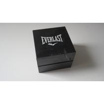 Relógio Masculino Everlast, Cronógrafo, Pulseira De Silicone