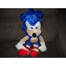 Sonic The Hedgehog Pelúcia Fofinha De Ótima Qualidade Lindo!