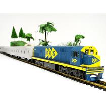 Trem De Prata Expresso Rio / Sp - 6504