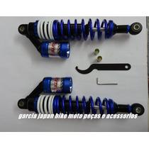 Amortecedor A Gas Azul Cg Titan 125 E 150 Partir 2000