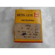 Xl 125 De 1985 À 96 - Pistão + Pino E Travas Metal Leve 1,00