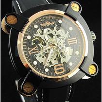 Relógio Grande Mecânico Automático Winner Esportivo