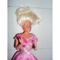 Boneca Barbie Antiga Da Estrela Pernas Flexiveis
