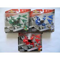 C912 - Power Rangers Samurai - 3 Motos - Fogo Água Floresta