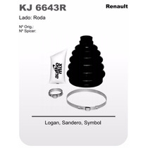 Kit Coifa Homocinética Renault Logan Sandero Symbol Kj6643r