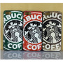 Capa Case Iphone 4 4s Star Starbucks +pelicula Varios Modelo