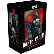 Kit Estátua Darth Vader E Livro, Star Wars - Novo