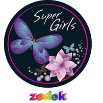 Capa Roda Estepe Pajero Tr4 Rav4 - Super Girls, Borboleta