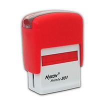 Carimbo Automático Printer 10 Pago Vermelho - Menor Preço