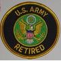 Patche Exercito Americano Usarmy Retired