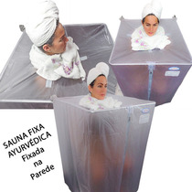 Sauna Residencial Portátil Ayurvédica Fixa Cigana