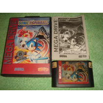 Sonic Spinball Original Completa Tec Toy Sega Mega Drive