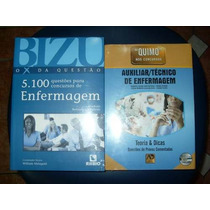 Bizu Enfermagem 5100 Questões + Quimo Técnico De Enfermagem
