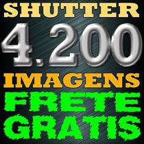 Combo 4200 Imagens Shutter Stock. Envio Imediato. Frete Free